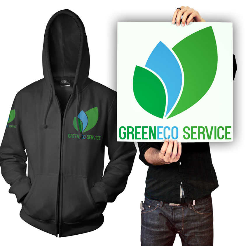 GreenEco Service Logo Design